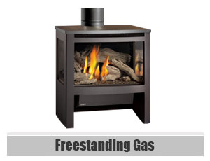 Freestanding Gas Fireplaces