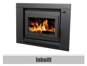 Inbuilt Wood Fireplaces