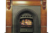 Nectre Fireplace with Victorian Fascia