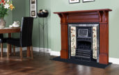 Nectre Fireplace with Timber surround