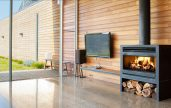Heatmaster Open Wood Fireplace
