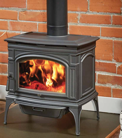 Lopi Rockport Freestanding Wood Fireplace