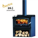 Nectre MK3 Freestanding Wood Fireplace