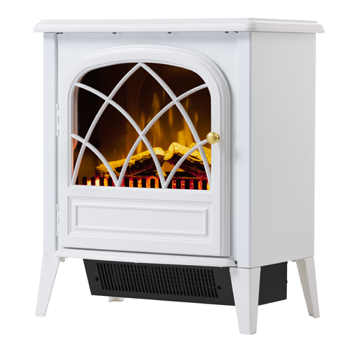 Dimplex Ritz White 2kw Freestanding Electric Fireplace Blue Mountains Fireplaces